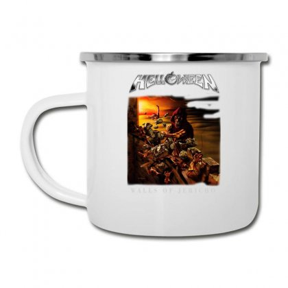 Helloween Walls Of Jericho Camper Cup Designed By Toldo