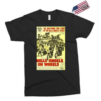 Hells Angels On Wheels Movie Poster Exclusive T-shirt Designed By Toldo