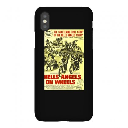 Hells Angels On Wheels Movie Poster Iphonex Case Designed By Toldo