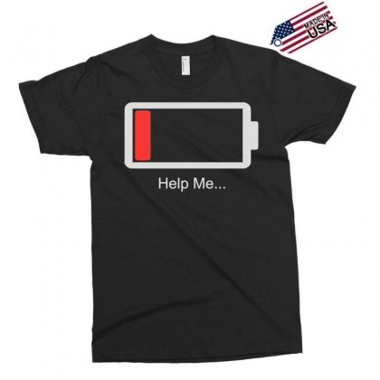 Help Me Energy Low Exclusive T-shirt Designed By Toldo