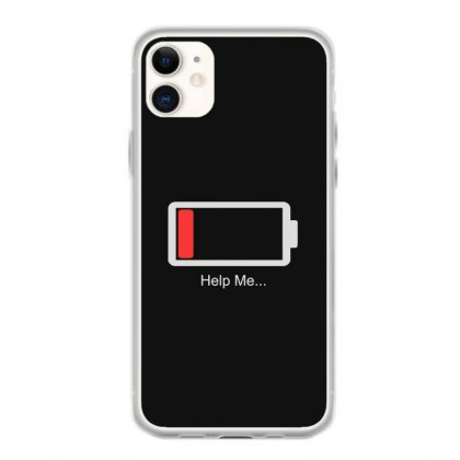 Help Me Energy Low Iphone 11 Case Designed By Toldo