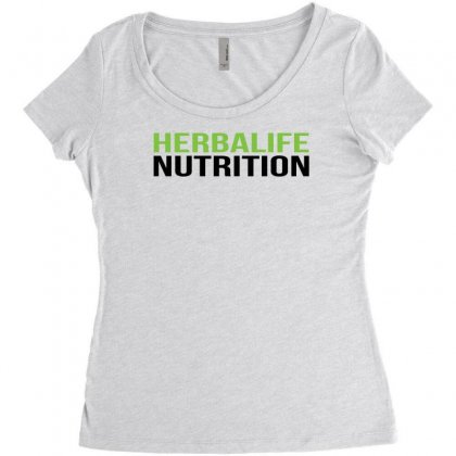 Herbalife Nutrition Funny Women's Triblend Scoop T-shirt Designed By Toldo
