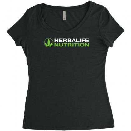 Herbalife Nutrition Women's Triblend Scoop T-shirt Designed By Toldo