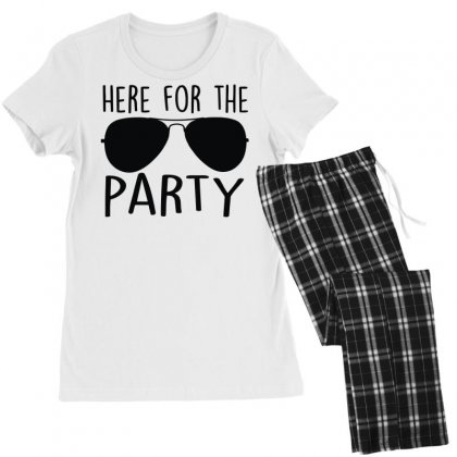 Here For The Party Women's Pajamas Set Designed By Toldo