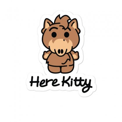 Here Kitty Sticker Designed By Toldo