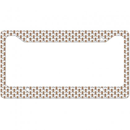 Here Kitty License Plate Frame Designed By Toldo