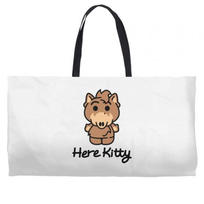 Here Kitty Weekender Totes Designed By Toldo