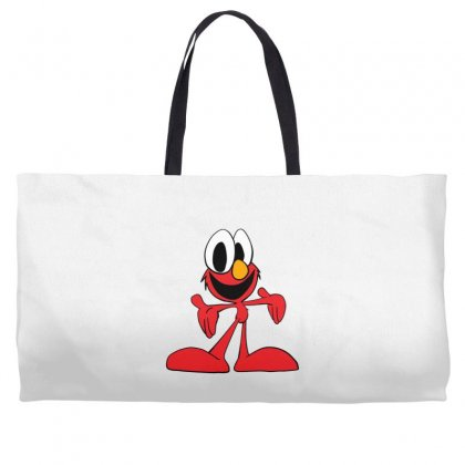 Here's Elmo Weekender Totes Designed By Toldo