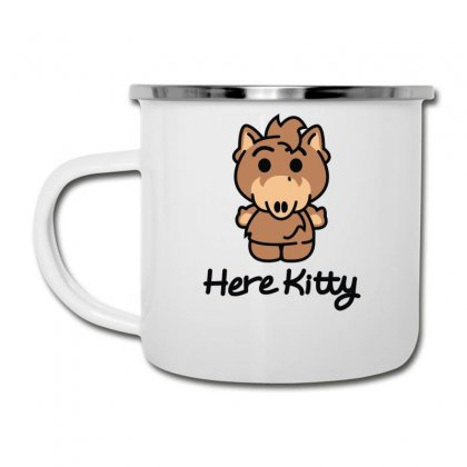 Here Kitty Camper Cup Designed By Toldo