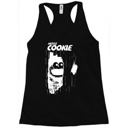 Here's Johnny Cookie Racerback Tank Designed By Toldo