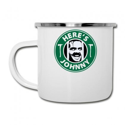 Here's Johnny Camper Cup Designed By Toldo