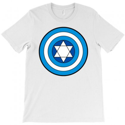 Hero Holidays   Hanukkah Captain Shield Logo T-shirt Designed By Toldo