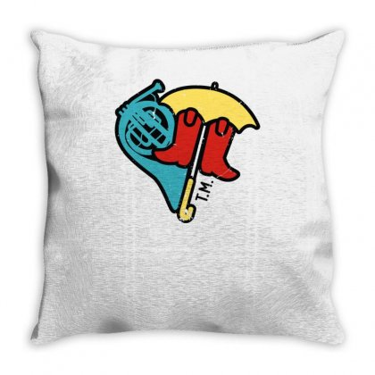 Hey Beautiful Throw Pillow Designed By Toldo