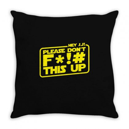 Hey Jj! Throw Pillow Designed By Toldo