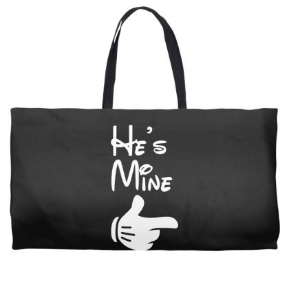 He's Mine She's Mine Weekender Totes Designed By Toldo