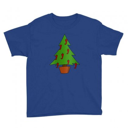 Christmas Tree Youth Tee Designed By Istar Freeze
