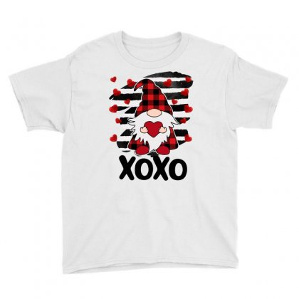 Gnome Heart Xoxo Youth Tee Designed By Omer Acar