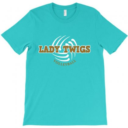 Lady Twigs Volleyball T-shirt Designed By Lotus Fashion Realm