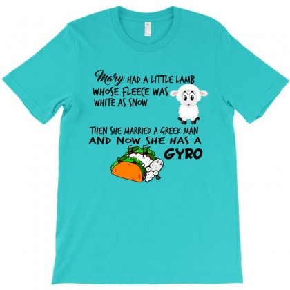 Mary Had A Little Gyro Too T-shirt Designed By Lotus Fashion Realm