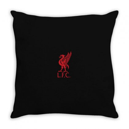 Logo L F C Throw Pillow Designed By Danz Blackbirdz