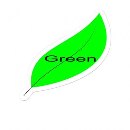 Green Sticker Designed By M-store