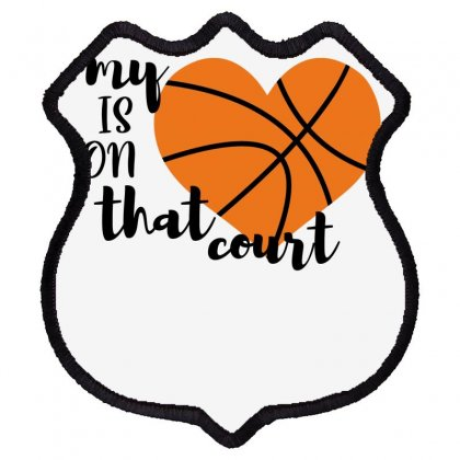 My Is On That Court Basketball For Light Shield Patch Designed By Sengul