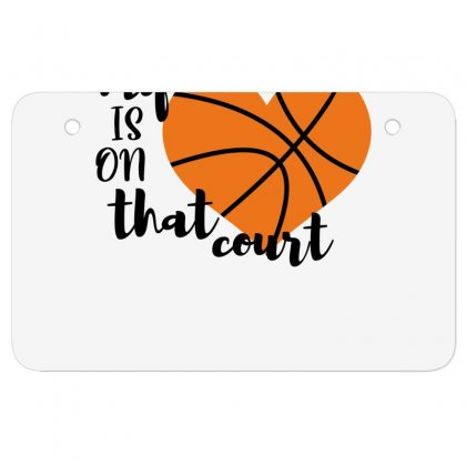 My Is On That Court Basketball For Light Atv License Plate Designed By Sengul