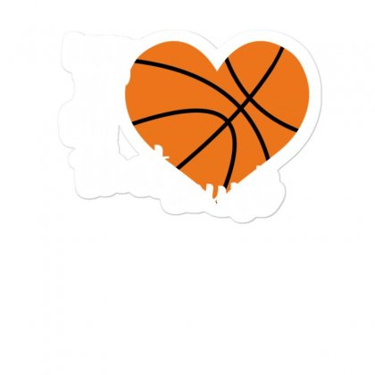 My Is On That Court Basketball For Dark Sticker Designed By Sengul
