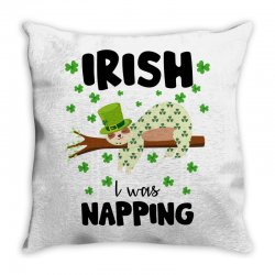 irish i was napping for light Throw Pillow | Artistshot