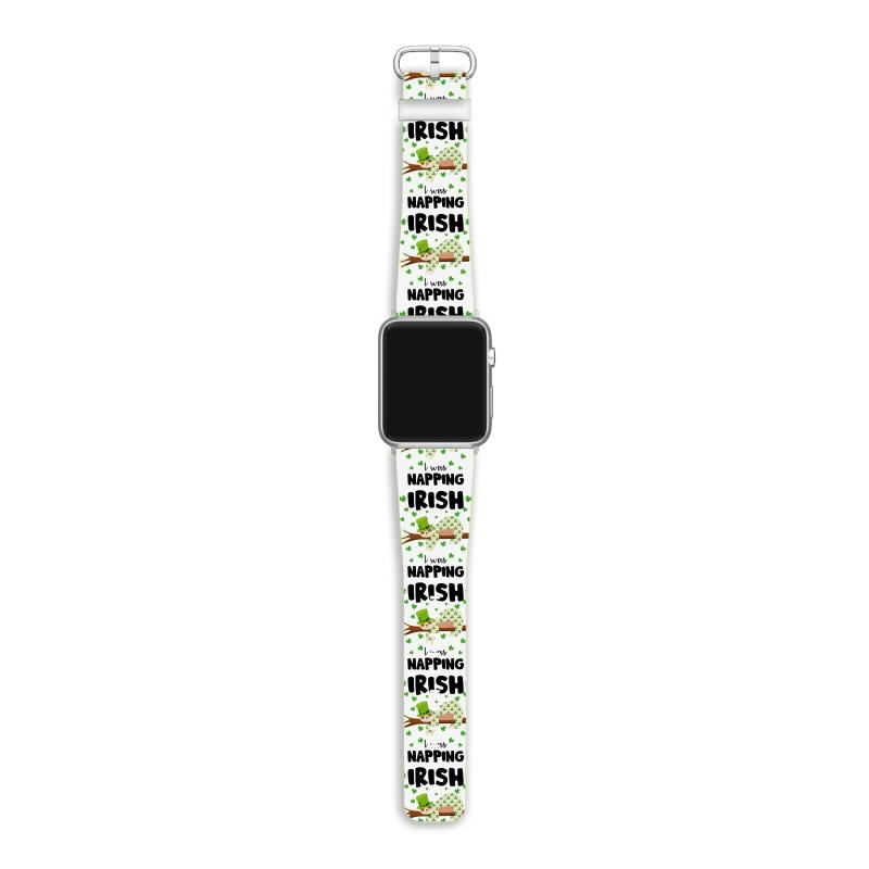 Irish I Was Napping For Light Apple Watch Band | Artistshot