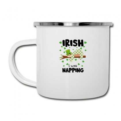 Irish I Was Napping For Light Camper Cup Designed By Sengul