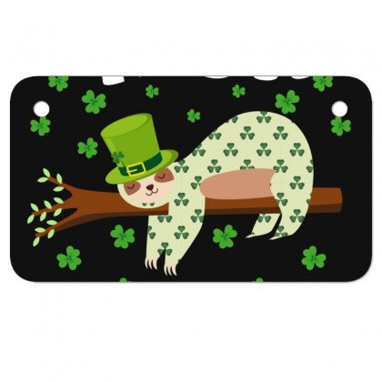 Irish I Was Napping For Dark Motorcycle License Plate Designed By Sengul