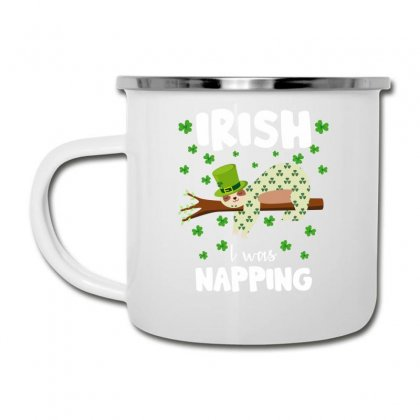 Irish I Was Napping For Dark Camper Cup Designed By Sengul