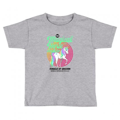 The Magical Horse Creature For Light Toddler T-shirt Designed By Gurkan