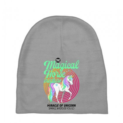 The Magical Horse Creature For Light Baby Beanies Designed By Gurkan