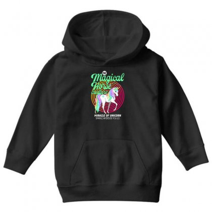 The Magical Horse Creature For Dark Youth Hoodie Designed By Gurkan