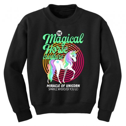 The Magical Horse Creature For Dark Youth Sweatshirt Designed By Gurkan