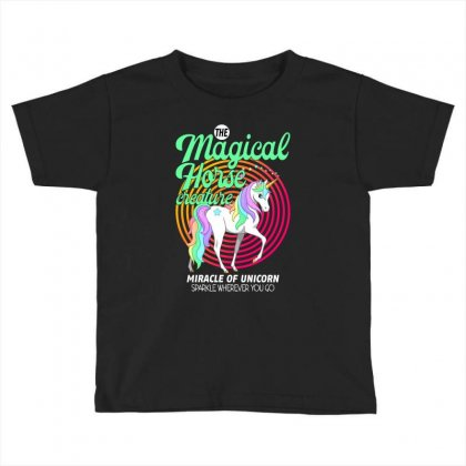 The Magical Horse Creature For Dark Toddler T-shirt Designed By Gurkan