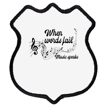 When Words Fail Music Speaks For Light Shield Patch Designed By Gurkan