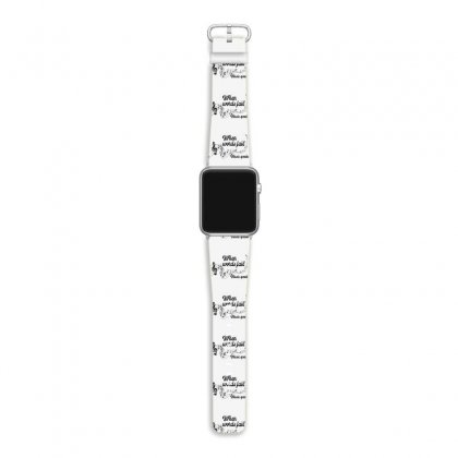 When Words Fail Music Speaks For Light Apple Watch Band Designed By Gurkan