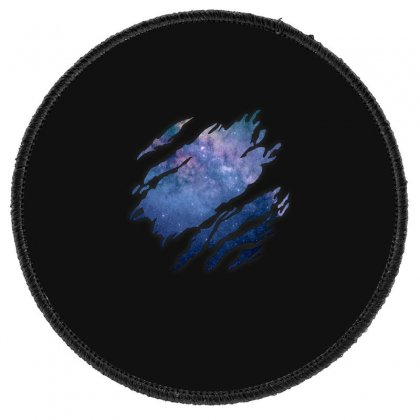 Deep Space Inside Round Patch Designed By Gurkan