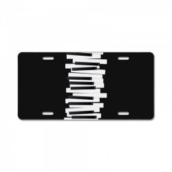 piano License Plate | Artistshot