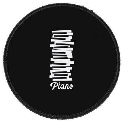 Piano Round Patch Designed By Gurkan