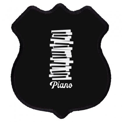 Piano Shield Patch Designed By Gurkan