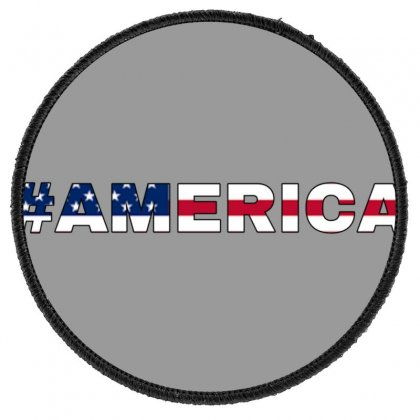 America Round Patch Designed By Krishhis