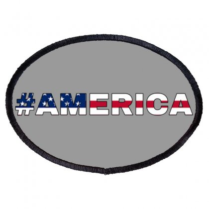 America Oval Patch Designed By Krishhis