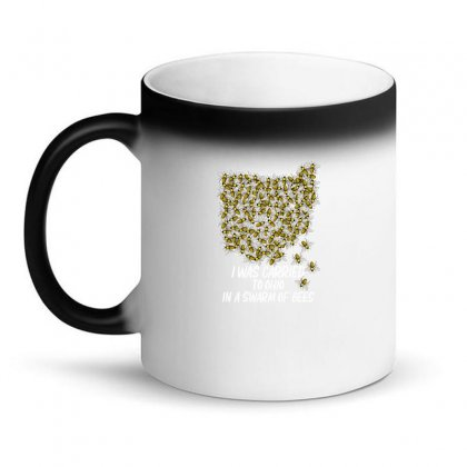 I Was Carried To Ohio In A Swarm Of Bees For Dark Magic Mug Designed By Gurkan