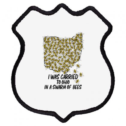 I Was Carried To Ohio In A Swarm Of Bees For Light Shield Patch Designed By Gurkan