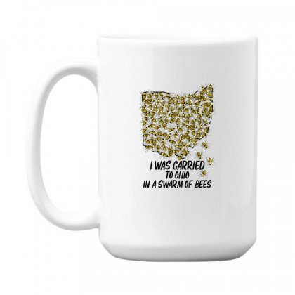 I Was Carried To Ohio In A Swarm Of Bees For Light 15 Oz Coffe Mug Designed By Gurkan
