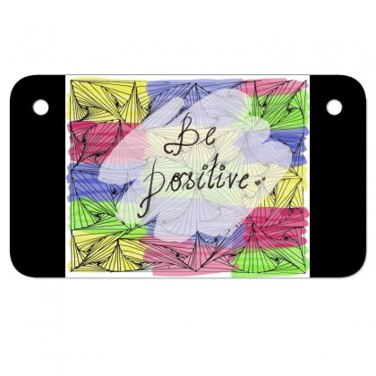 Be Positive Motorcycle License Plate Designed By Ar.tist_creations